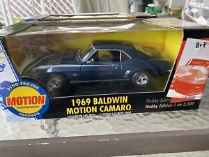 ERTL AMERICAN MUSCLE*1969 BALDWIN MOTION CAMARO-HOBBY EDITION 1 of 2500 # 33378