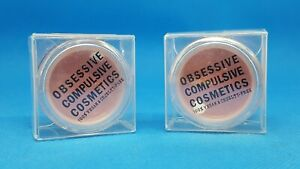 Obsessive Compulsive Cosmetics Loose Colour Concentrate Pigments BURNING (2pack)