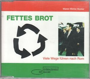 Fettes Brot  1 TRACK PROMO  VIELE WEGE FÜHREN NACH ROM (c)  1998