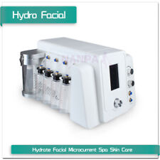 2 In1 Hydra Dermabrasion Microcurrent Face Lift Skin Rejuvenation Facial Machine