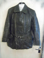 VINTAGE WW2 GERMAN LUFTWAFFE HORSEHIDE LEATHER FLYING JACKET SIZE M ZIPP ZIPS