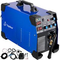 MIG Welder Welding Machine MIG-250 MIG MMA TIG IGBT DC Inverter Welder 250 Amp