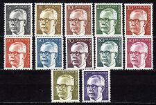 Germany / Berlin - 1970 Definitives Heinemann (I) - Mi. 359-70 MNH