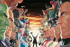 ALEX ROSS rare ABSOLUTE JUSTICE limited PAPER print ECCC EXCLUSIVE 2017 #5/25