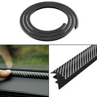 1.6M Gap Filling Carbon Fiber Look Rubber Sealing Strip For Car Dashboard ZPN