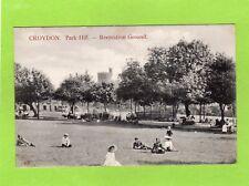 Croydon Park Hill Recreation Ground pc  used Charles Martin Ref D651