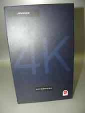 JOPREE 4K 4-IN-1 iPHONE LENS KIT 20X MACRO,2.0X ZOOM,120°WIDE ANGLE,180° FISHEYE