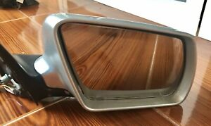 Audi A6 Allroad 4B right mirror, Electric, folding and heating.
