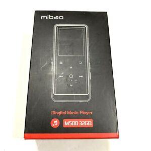 MP3 PLAYER with Bluetooth FM Radio Recording HiFi Lossless Sound 32GB By MIBAO