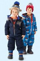BNWT NEXT Baby/Boys Blue & Red Snow Suits All In 1 Coat Jacket 12-18-24 M 2-3 Y