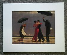 "JACK VETTRIANO ""THE SINGING BUTLER"" MOUNTED ART PRINT SINGLE MOUNT SPECIAL OFFER"