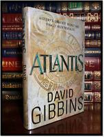 Atlantis by David Gibbins Jack Howard #1 Hardback 1st Edition First Printing