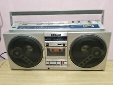 Vintage Sony CFS-77S Boombox Stereo Cassette Corder 4 Bands
