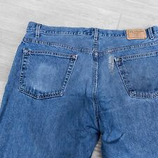 Levis Signature Jeans 42 x 30 Mens Distressed Painted Snagged Frayed Soft Worn
