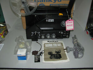 Sankyo Sound-501 Projector In Near Mint Condition Fully Tested & Working