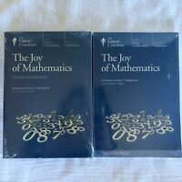 Great Courses Joy of Mathematics DVDs 24 Lectures Course Guidebook Transcript