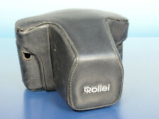 Rollei 35 reflex borsa bag case astuccio pelle Leather - (41549)