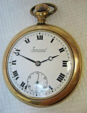 Imperial Pocket Watch, 10 Size, Swiss 7 Jewel, G.F. Case