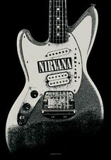 Nirvana - Guitar - Fabric Poster - 30 x 40 Wall Hanging - Cobain 51963