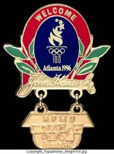 Olympic Pin Atlanta 1996 John Hancock Sponsor Partner