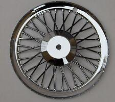 FIAT 500 Classique Set de 4 bouchon de moyeu de roue enjoliveur de roue en plastique chromé NEUF