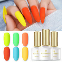 BORN PRETTY 6ml Fluorescence Gellack Gel Polish Summer Series Soak Off UV Gel