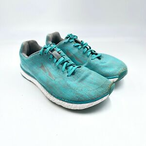 Altra Escalante Running Shoes Womens Size 8 Green White AFW1833G-30 Lace Up