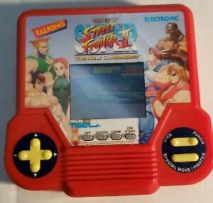 Vtg Tiger Electronics 1994 Street Fighter II Handheld Game Capcom WORKING!!!