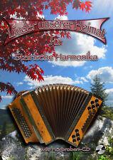Lieder unserer Heimat für Steirische Harmonika mit CD - Noten Griffschrift