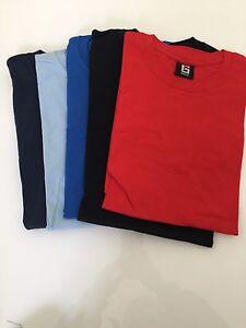 Softstyle Mens Crew NeckT–Shirt - Men's tops x5 Size M