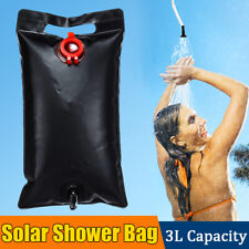 3L Portable Solar Shower Bag ater Storage Bag Beach Camping Travel Outdoor   K