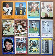 Tom Clements CFL University Notre Dame Fighting Irish Lot 12 JOGO Police AW