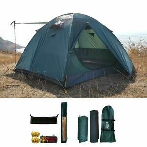 camppal Professional 3-4 Person 4 Season Mountain Tent Super Resistance to Wi...