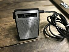 Classic Recoton Dynamic Cassette Microphone Handheld Ham Radio made in Japan
