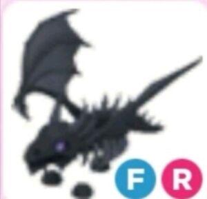 Adopt me Pets| FR Fly Ride Shadow Dragon