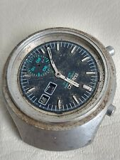 PARTS OR RESTORATION PROJECT SEIKO HELMET 6139-7100 CHRONOGRAPH FAST DELIVERY
