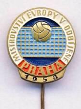 1958 European VOLLEYBALL Championships PIN badge PRAGUE Czechoslovakia