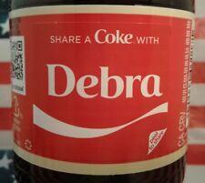 Share A Coke With Debra 2018 Personalized Coca Cola Vanilla Bottle