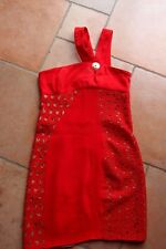 Kleid * Minikleid ** Versace for H&M * rot * Gr. 34