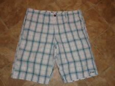 Men's Kirra Plaid Shorts Size 38
