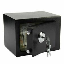 Steel Fireproof 23x17x17 cm Safe - Black