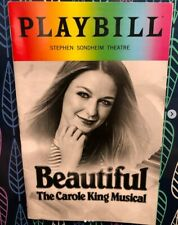 Beautiful Broadway Musical Gay Pride 2018 Playbill Pridebill Melissa Benoist