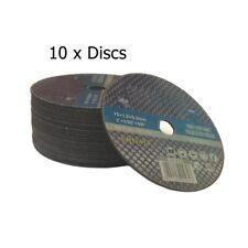"""75mm X 1mm Air Cut Off Discs Metal Cutting 3"""" Thin Slitting Discs 10 x Discs"""