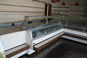 Fleisch- Metzgerei- Wurst- Fisch- Kühltheke- Verkaufstheke Ladentheke