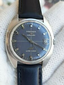 LONGINES WATCH ULTRA CHRON 8071 AUTOMATIC CAL.431 MENS 35.5mm SWISS.SERVICED