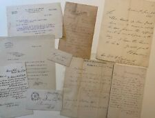 New York Governors, Senators and Congressmen autographs spanning 100 years