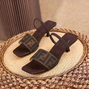 beautiful lady sandals shoes summer