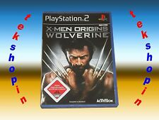 PS2 - X-Men Origins Wolverine ** Playstation 2 Spiel USK 18