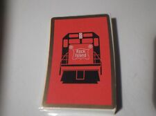 FABULOUS New RED ROCK ISLAND Railroad PLAYING CARDS Unopened Cellophane Wrapper