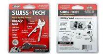 Chiave survival Swiss + tech Utili - key 6 in1 mini multitool knife